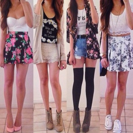 cjrz5x-l-610x610-skirt-floral-floral+tank-graphic+tee-shorts-outfits-cute-summer+time-summer+outfits-crop+tops-tank-lase-shoes-dress-shirt-sweater-blouse-jacket-