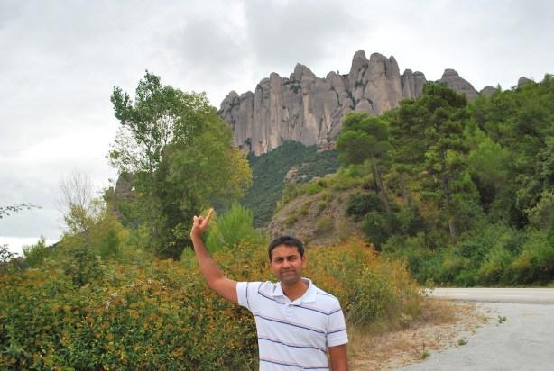 Near Montserrat