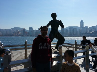 me with Bruce Lee :)