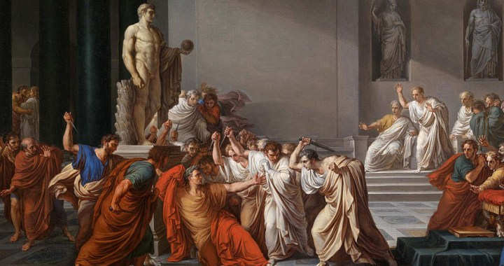 Julius Caesar – The assassination of the Roman commander in Rome