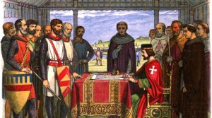 Magna Carta in three locations