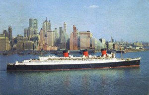 RMS Queen Mary – The historical passenger ship rests in Long Beach