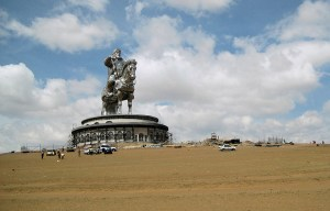 Genghis Khan Equestrian Statue – The founder of the Mongol Empire on horseback in Ulaanbaatar