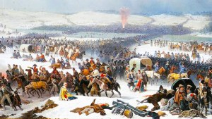 The Grande Armée Crossing the Berezina