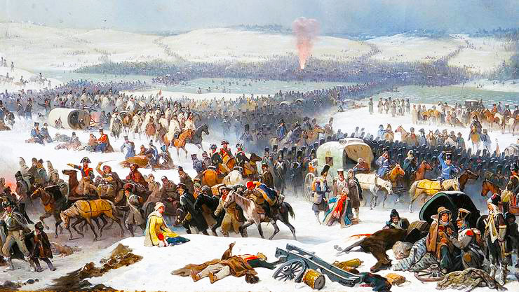 The Grande Armée Crossing in Berezina
