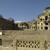 Darul Aman - The historic restored palace in Kabul