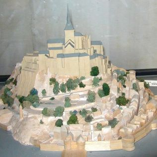 Mont Saint-Michel 19th century