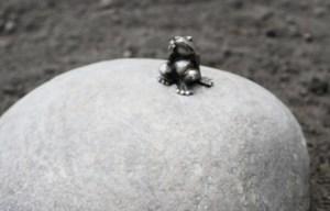 Frog traveler – The world's smallest monument in Tomsk