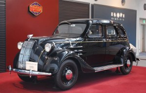Toyota A1 – The first passenger automobile of the Japan's company is being exhibited in Nagoya