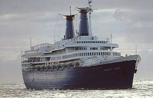 Achille Lauro – The last port of the tragic cruise ship in Seychelles