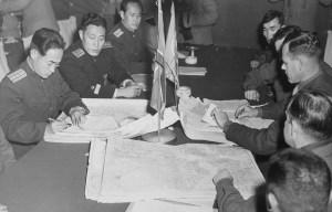 The Korean Armistice Agreement – The armistice of hostilities of the Korean War in Kaesŏng