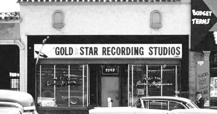 Gold Star – The studio of leading pop and rock artists in Los Angeles
