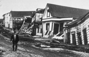 Valdivia earthquake – The Great Chilean earthquake in Valdivia