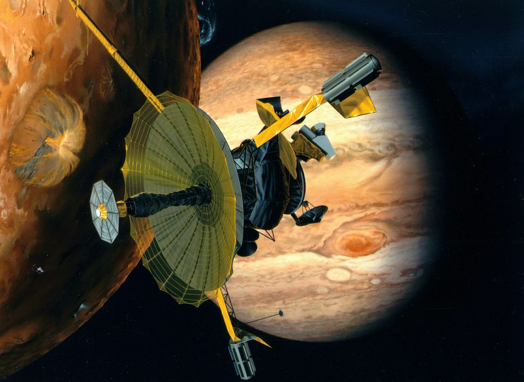 Galileo – The first probe in Jupiter orbit