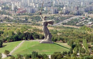 The Motherland Calls – The giant statue for the heroes of the Battle of Stalingrad in Volgograd