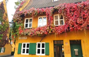 The Fuggerei – The world's oldest social housing complex still in use in Augsburg