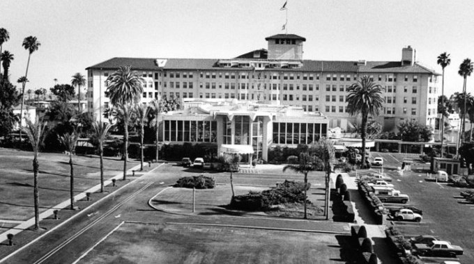 The historical Ambassador Hotel in Los Angeles