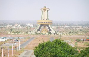 Monument des Martyrs – The memorial tower of National Heroes in Ouagadougou