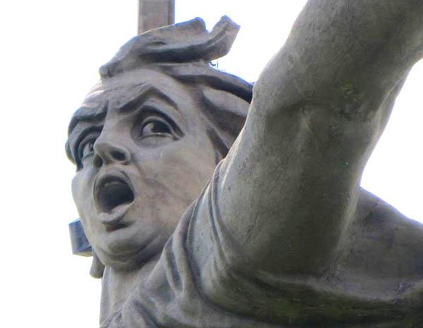 The Motherland Calls in Volgograd