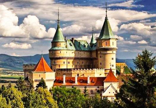 The medieval castle in Bojnice