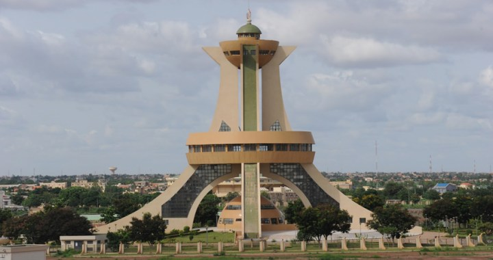 Monument des Martyrs – The Monument of National Heroes in Ouagadougou
