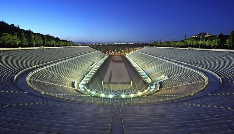 The stadium of the first modern Olympics in Athens