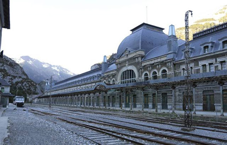 "Canfranc International railway station – The ""Titanic of the Mountains"" in Canfranc"