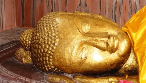 The death place of Buddha in Kushinagar
