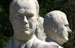 President Heads – The abandoned presidential statues in Williamsburg