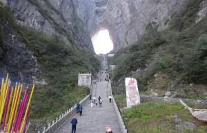 Tianmen Cave – The heaven's gate mountain in Zhangjiajie