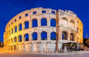 Pulska Arena – The huge Roman amphitheater in Pula