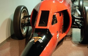 """Flying Caduceus – The world's first """"jet"""" propulsion land speed car is being exhibited in Reno"""