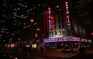 Radio City – The majestic Music Hall in New York