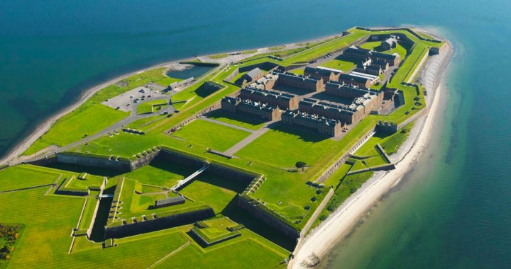 The historic Fort George in Ardersier