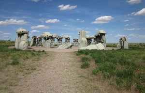 Carhenge – The car Stonehenge in the city of Alliance