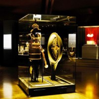 The armor and shield of Philip II in Vergina