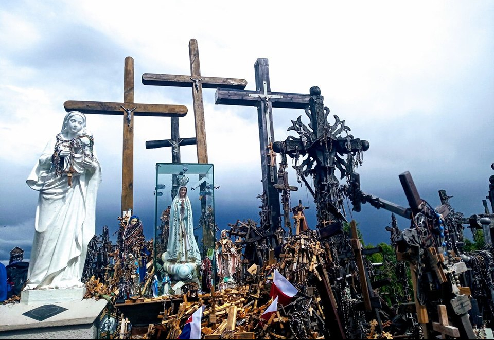The Hill of Crosses in Šiauliai