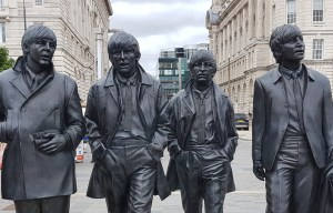 The Beatles – The statue of the Fab Four in Liverpool