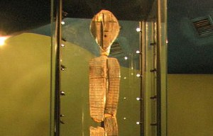 The Shigir idol – The oldest known wooden sculpture in the world is being exhibited in Yekaterinburg