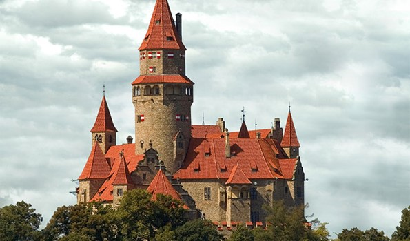 Bouzov Castle – The Medieval castle in Bouzov