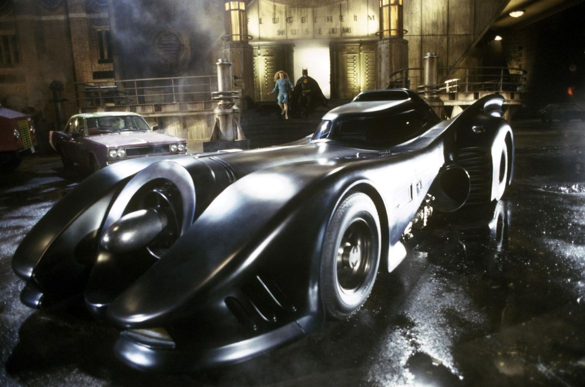 Batman – The Tim Burton's Batmobile is being exhibited in Los Angeles