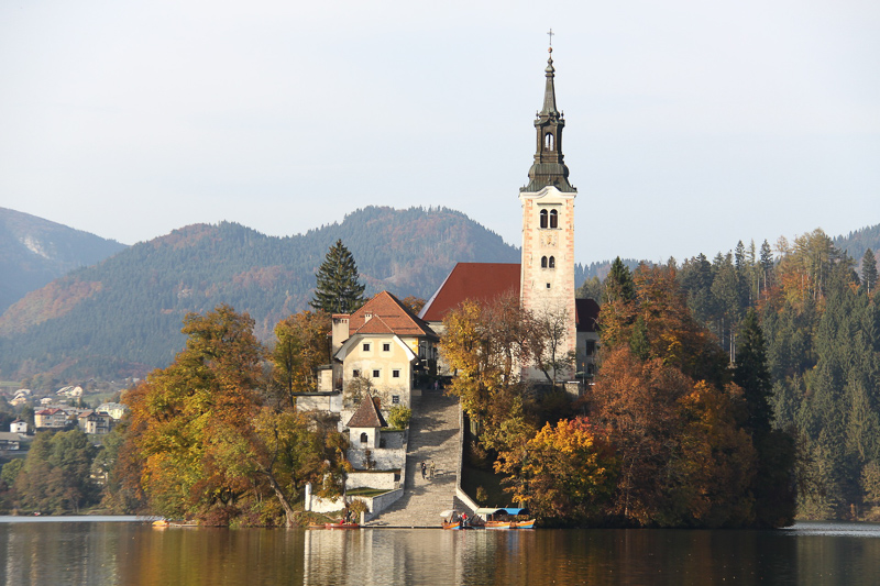 St. Mary Church on the lake – The island's church in Bled