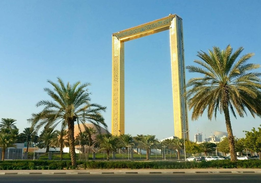 Dubai Frame – The largest frame in the world in Dubai