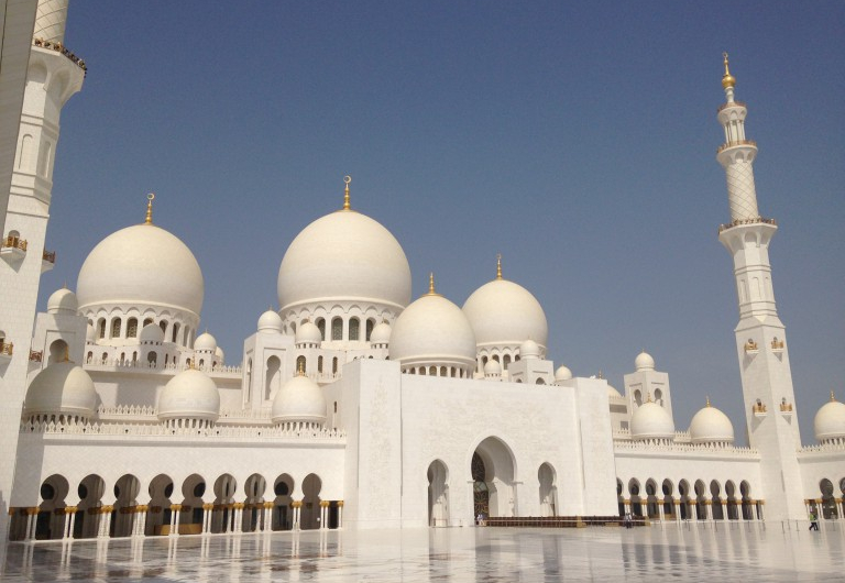 Sheikh Zayed – The Grand Mosque in Abu Dhabi