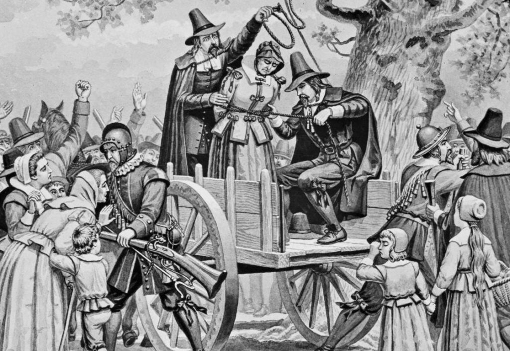 Witch trials – The site where witches were executed in Salem