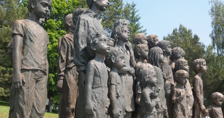 The Memorial to the Children Victims of the War in Lidice