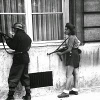 Simone Segouin - Τhe woman of resistance in Paris