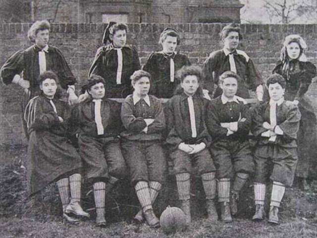 British Ladies' Football Club – The first official women's match in Hornsey