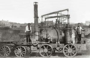 Puffing Billy – The world's oldest surviving steam locomotive is being exhibited in London