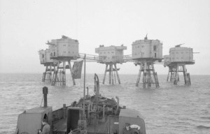 Red Sands Fort – The seven armed towers in the Thames Estuary